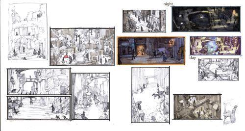 один из концептов Alice: otherlands